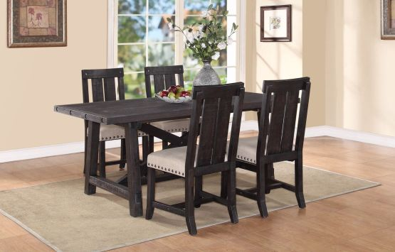 5 Piece Yosemite Solid Wood Dining Set By Modus
