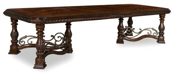 Valencia Extendable Trestle Dining Table