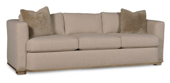 Wythe Sandstone Fabric Track Arm Sofa