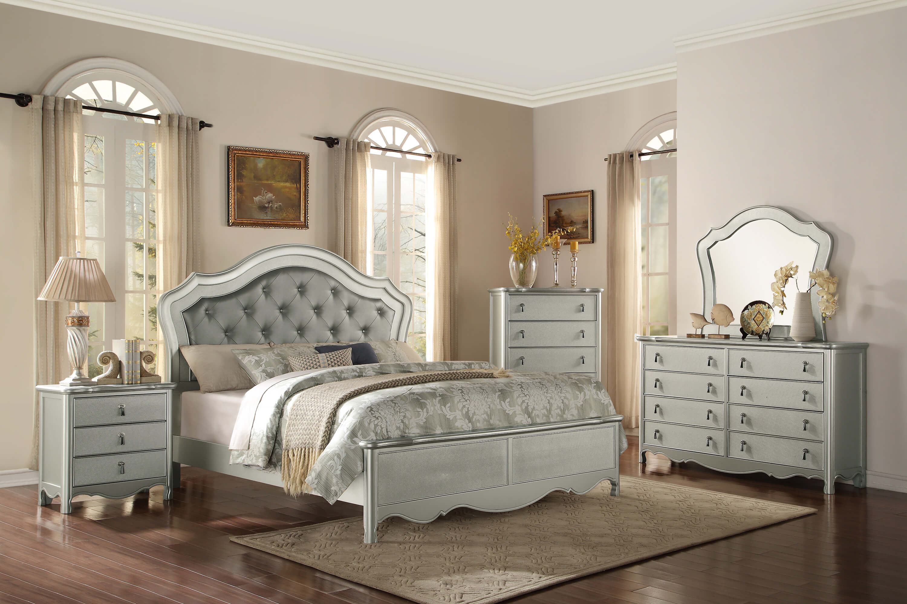 reviews bedroom hollywood living set swank mirror home customer furniture
