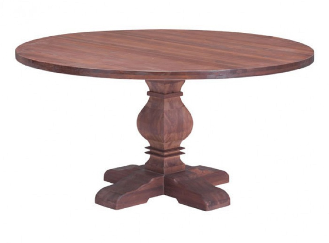 zuo modern hastings solid fir wood round dining table usa furniture online. Black Bedroom Furniture Sets. Home Design Ideas