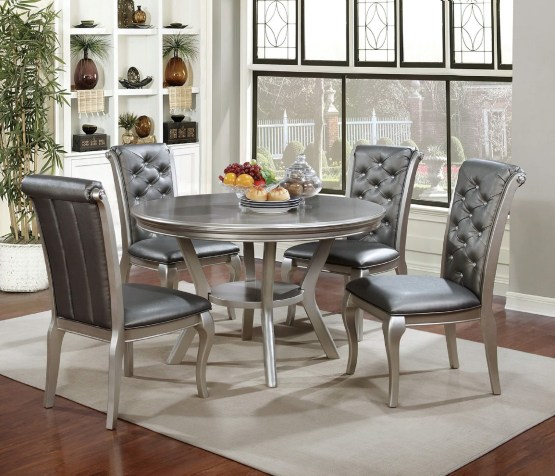 5 Piece Amina Round Dining Set