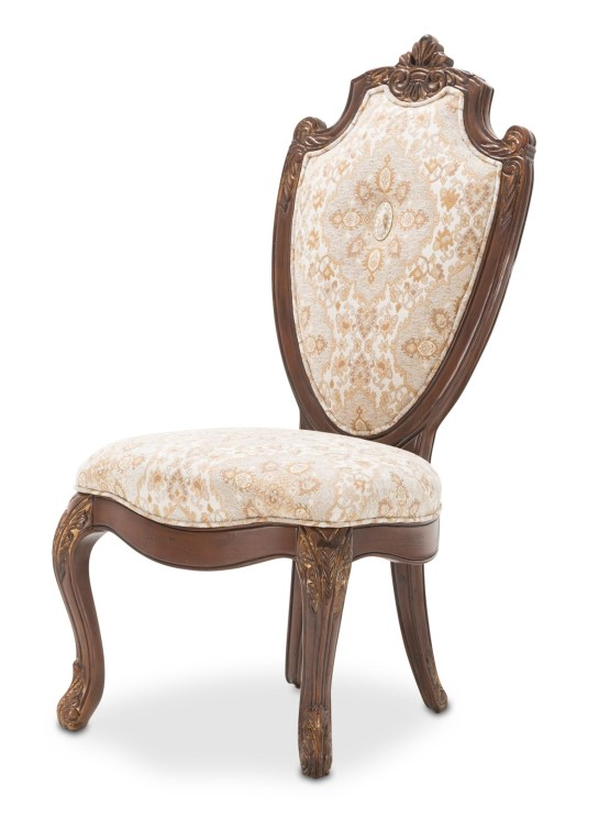 Villa Di Como Dining Side Chair Portobello Finish