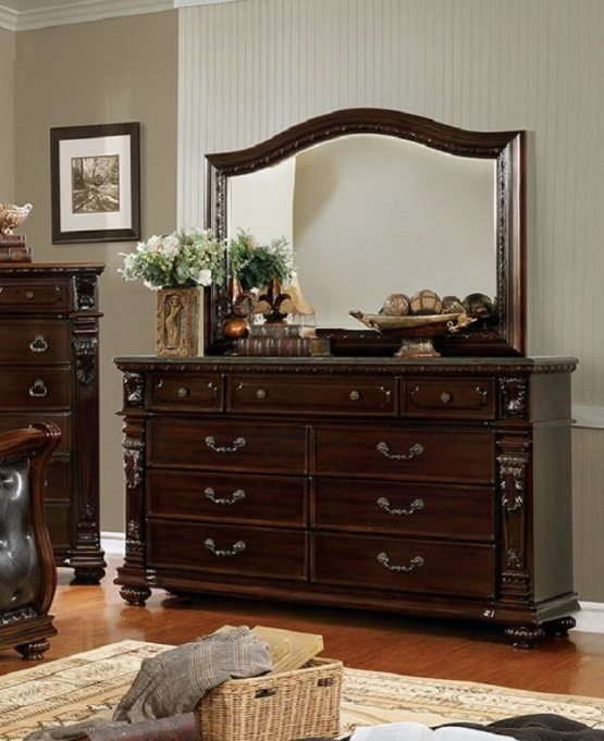 Fort Worth Dresser With Marble Top