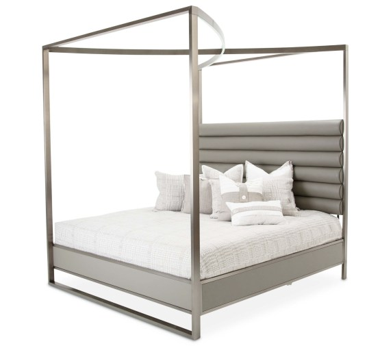 Metro Lights Canopy Led Bed