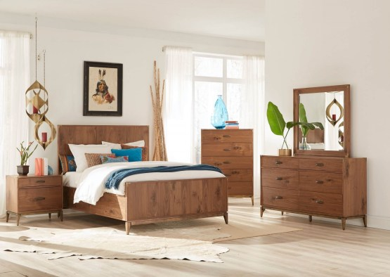4 Piece Adler Panel Bedroom Set
