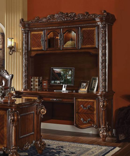 2 Piece Vendome Desk & Hutch