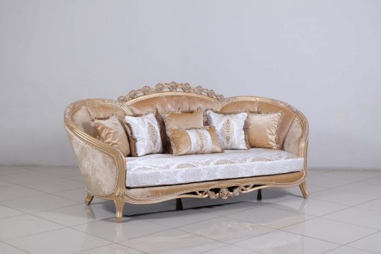 Valentina Wood Trim Sofa