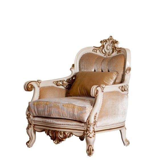 Bellagio Wood Trim Chair