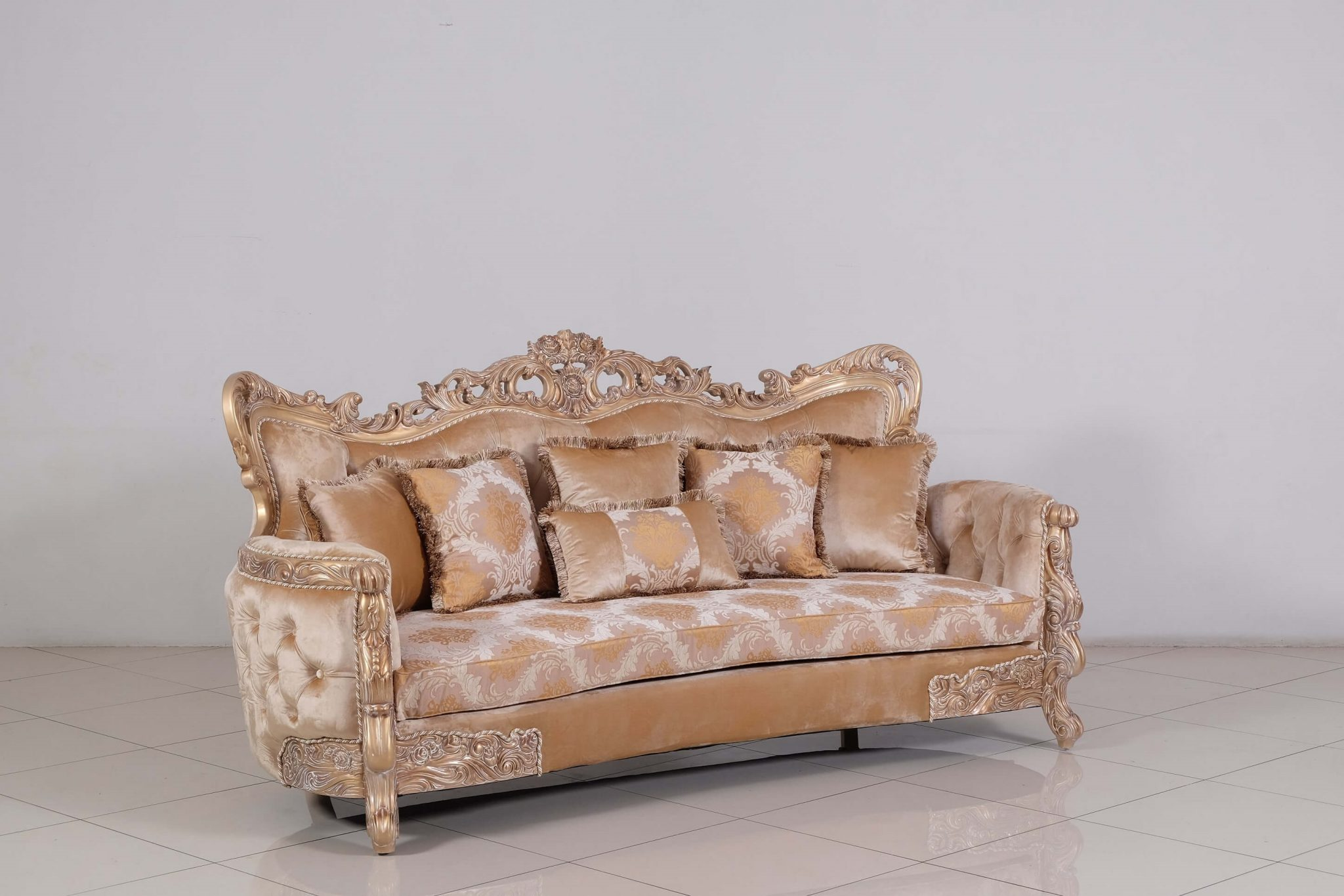European Furniture Imperial Palace Wood Sofa Usa Furniture Online