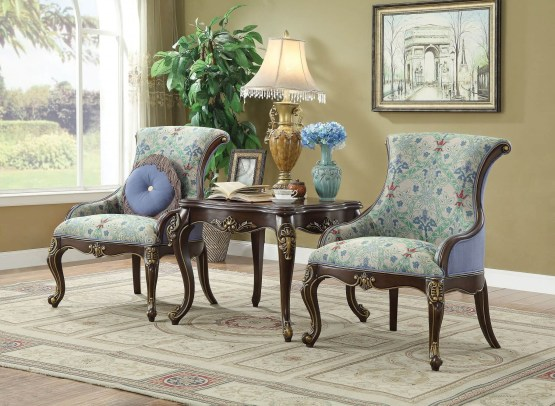 Ameena Accent Chair Set
