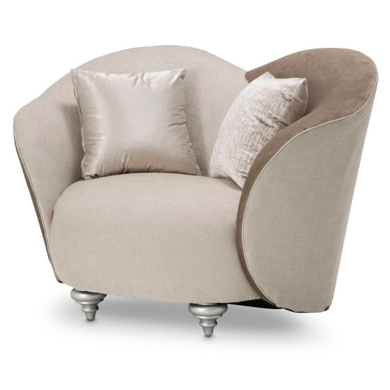 Camelia Chair And Half Platinum