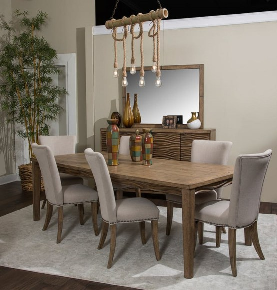Del Mar Sound 4 Legs Dining Set