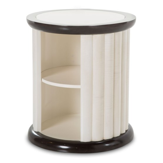 Paris Chic Round Side Table