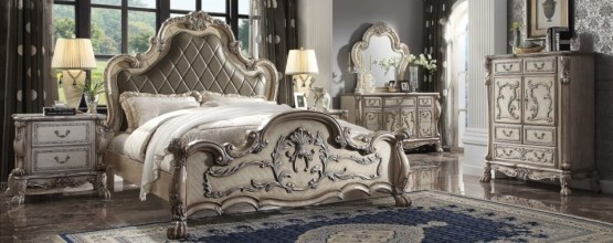 4 Piece Acme Dresden Bedroom Set