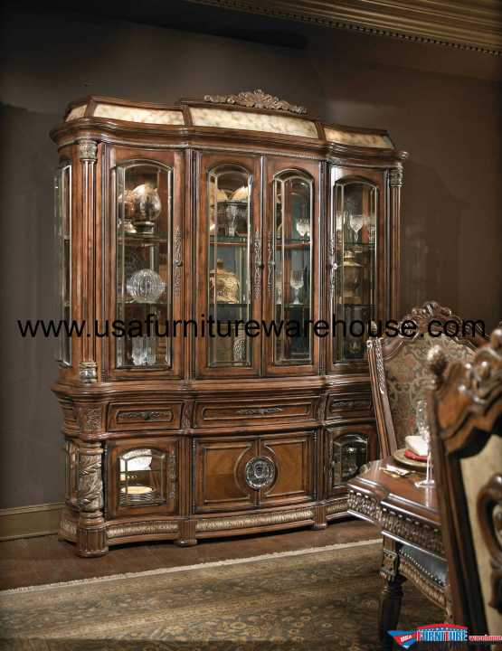 AICO VIlla Valencia Buffet and Hutch