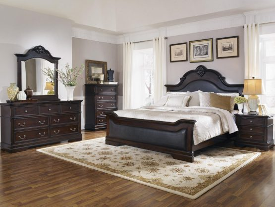 5 Piece Homey Design Hd 8016 Bellagio Bedroom Set Usa