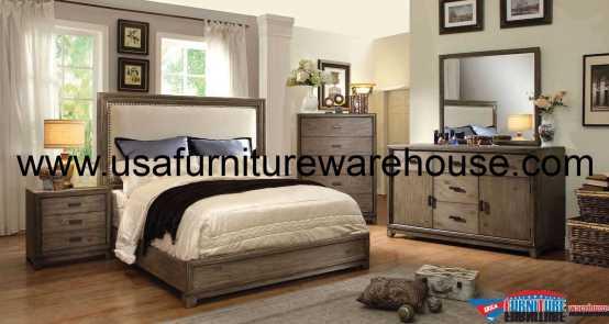 Antler Platform Bedroom Set