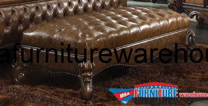Versailles Bench Upholstered 2 Tone Finish