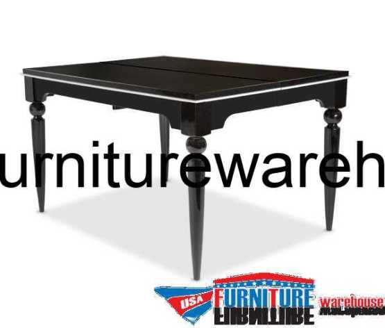 Sky Tower Black Ice Gathering Dining Table