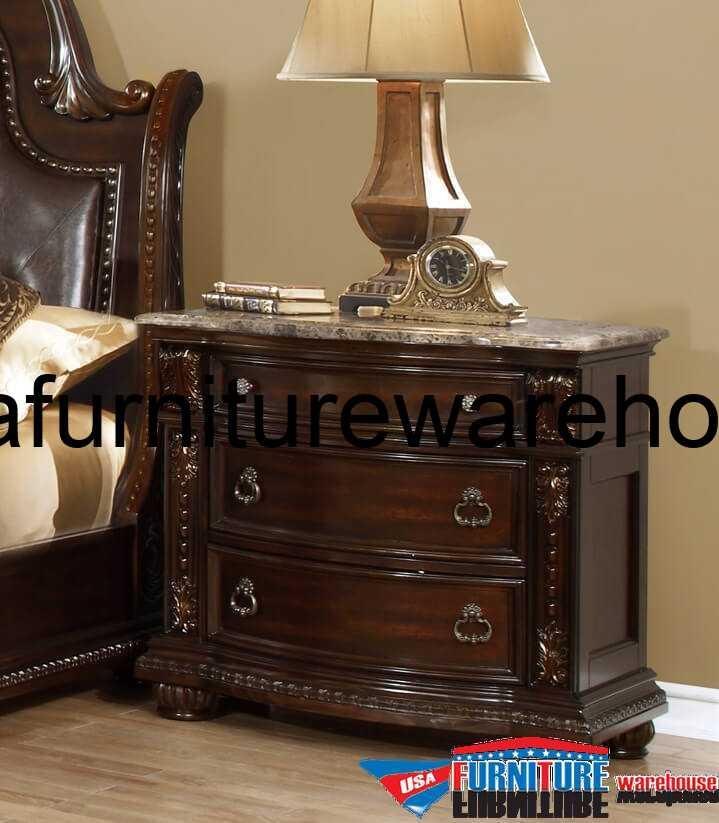 Alexandria B9505 3 Drawer Nightstand