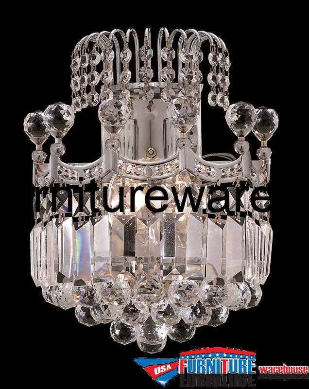 2 Lights Wall Sconce Chandelier 8949 Corona Collection