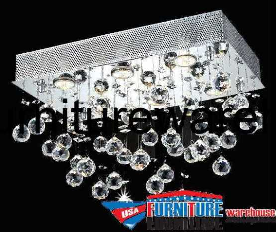 6-LED Lights Flush Mount Chandelier 2021 Galaxy Collection