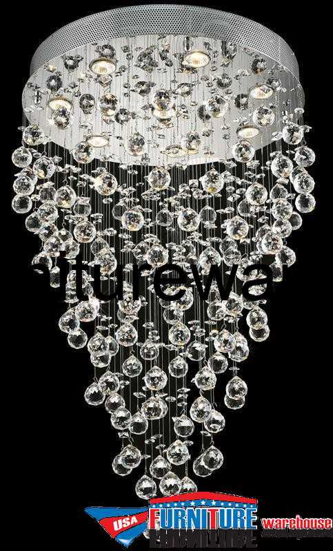 8 Lights Chandelier 2006 Galaxy Collection