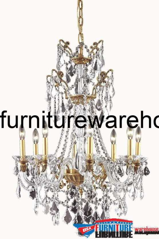 8 Lights Chandelier 9806 Imperial Collection