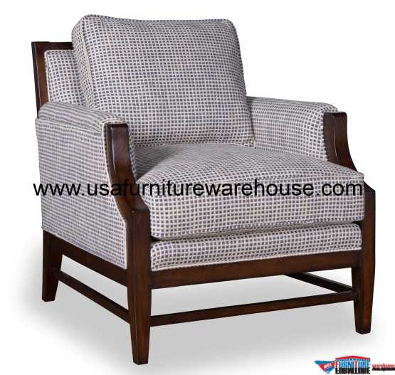 Bristol Wood Trim Accent Chair