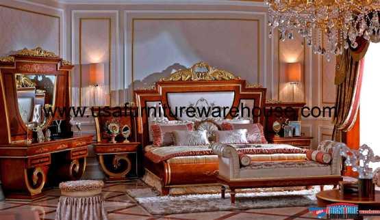 European Luxury Bedroom Set