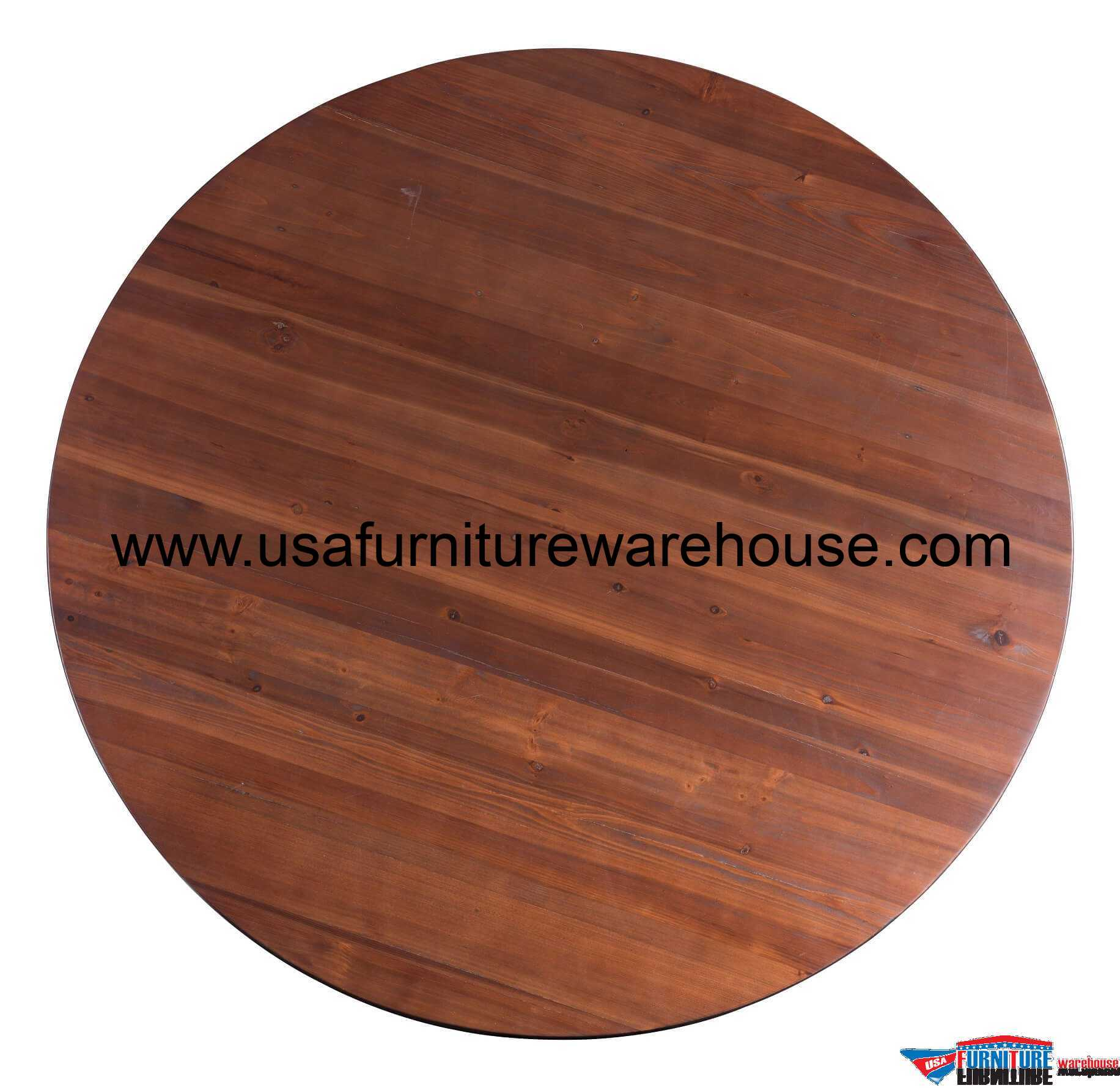 Hastings Solid Wood Round Dining Table Usa Furniture