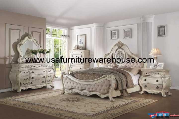 4 Piece Acme Ragenardus Bedroom Set