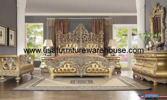 Homey Design HD-8016 Bedroom Set