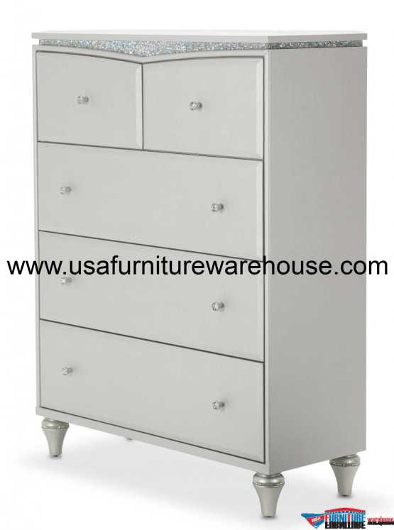 Aico Melrose Plaza Upholstered Drawer Chest