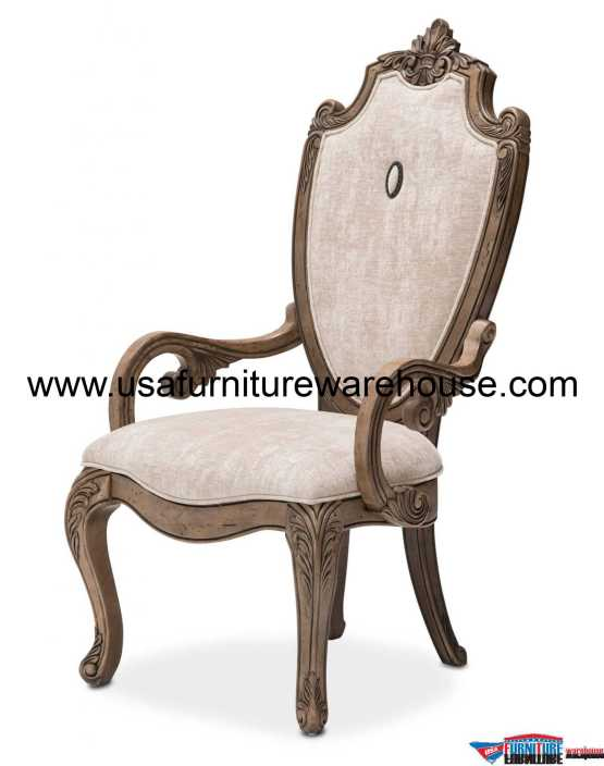 Villa Di Como Arm Chair Heritage Finish