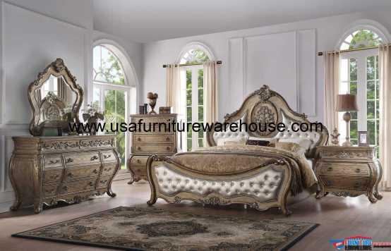 Ragenardus Bedroom Set Vintage Oak