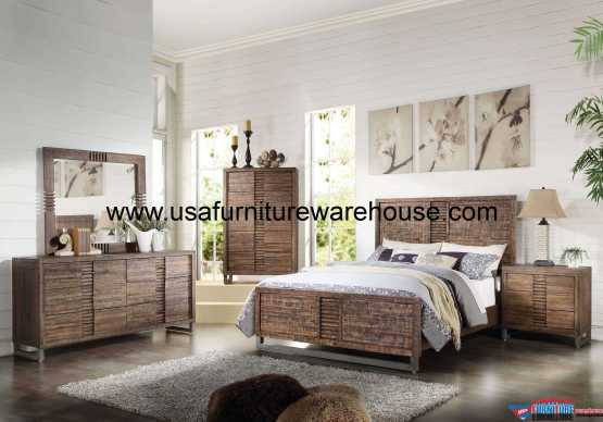4 Piece Acme Andria Bedroom Set
