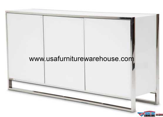 Aico StateSt Sideboard Glossy White