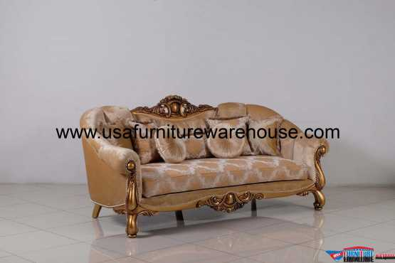 Golden Knights Luxury Sofa