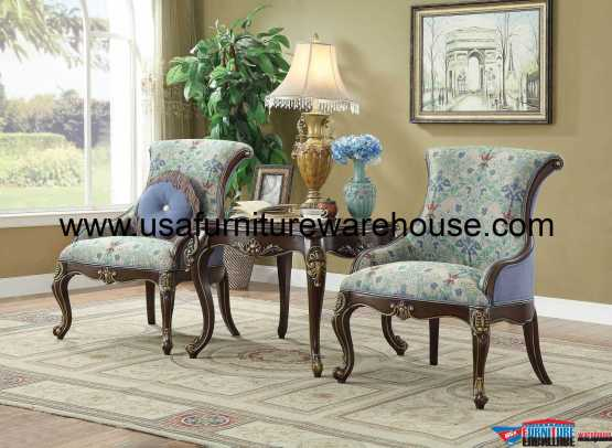 3 Piece Ameena Accent Chair