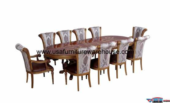 European Furniture Maggiolini Dining Set