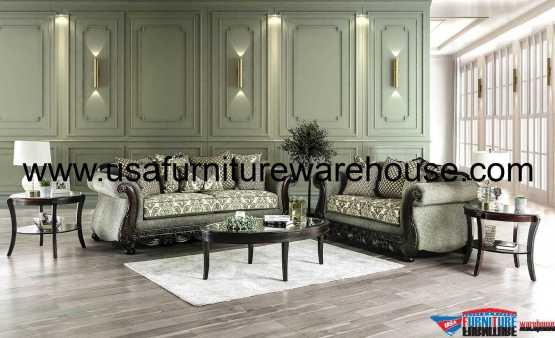 Justina Sofa Set