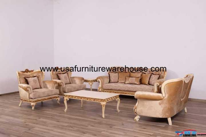 Fantasia Luxury Sofa Set