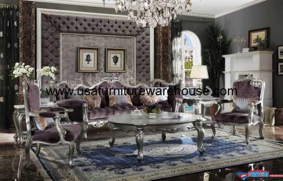 3 Piece Picardy Sofa Set
