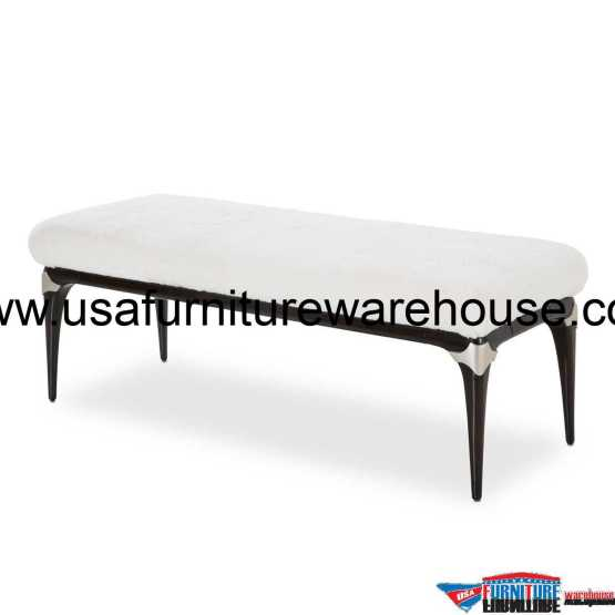 Paris Chic Bed Bench