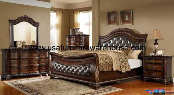 B9588 Sleigh Bedroom Set