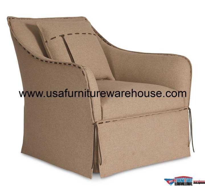 Tryon Flax Swivel Chair