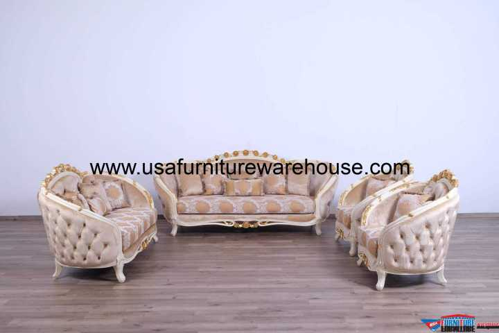 Valentine Luxury Sofa Set
