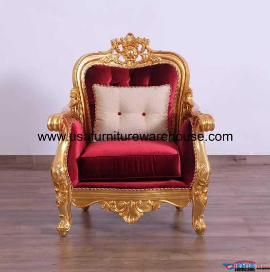 Bellagio II Gold Chair